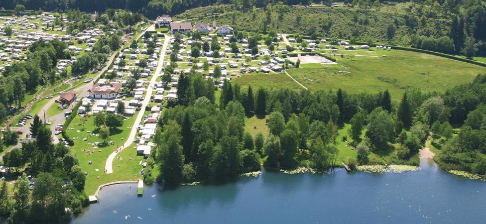 FKK Camping Müllerhof Luftaufnahme