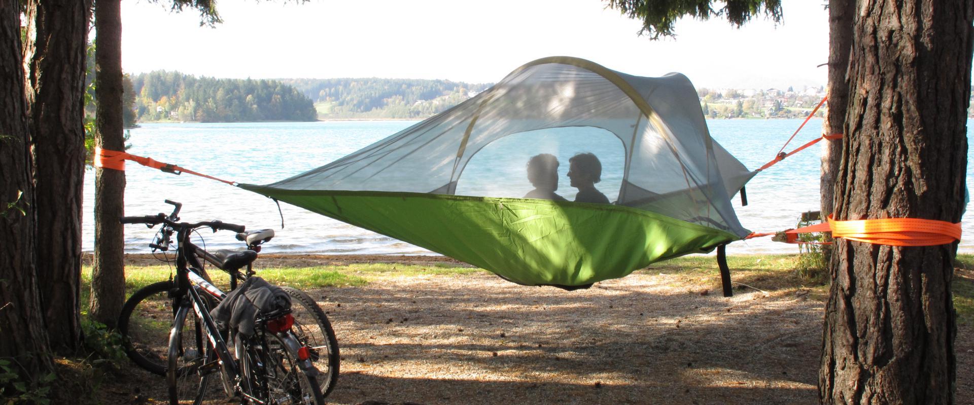 Baumzelt Camping Anderwald